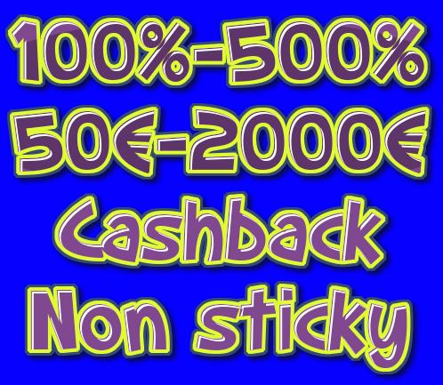 Parhaat kasinobonukset 200-500 - meiltä löydät vaihtoehdot.